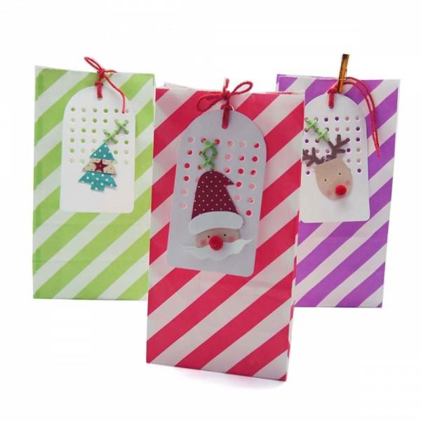Papiertüten -Hangtag Christmas-
