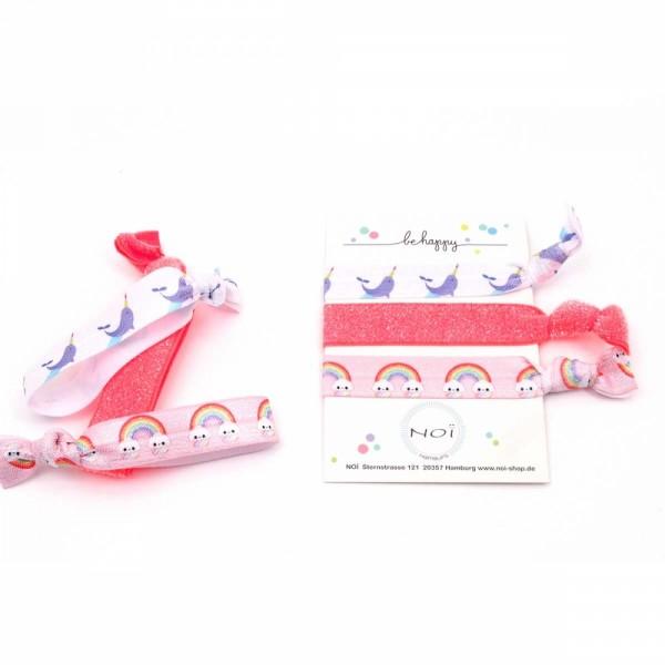 Flamingo Arm- und Haarband Rosa
