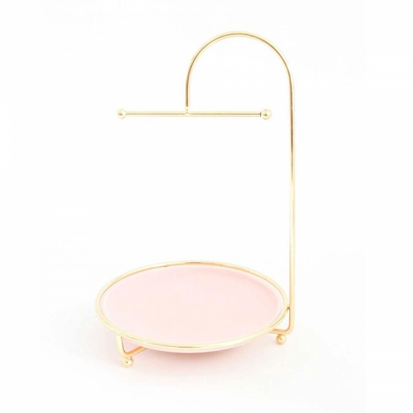 Display Jewelry round rosa