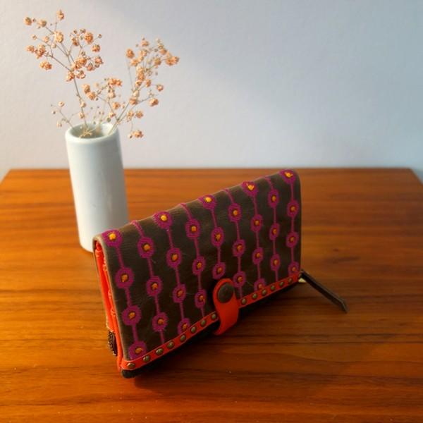 Portemonnaie geometric Crunch folding