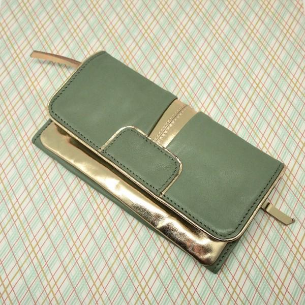 Portemonnaie DD Bling olive L