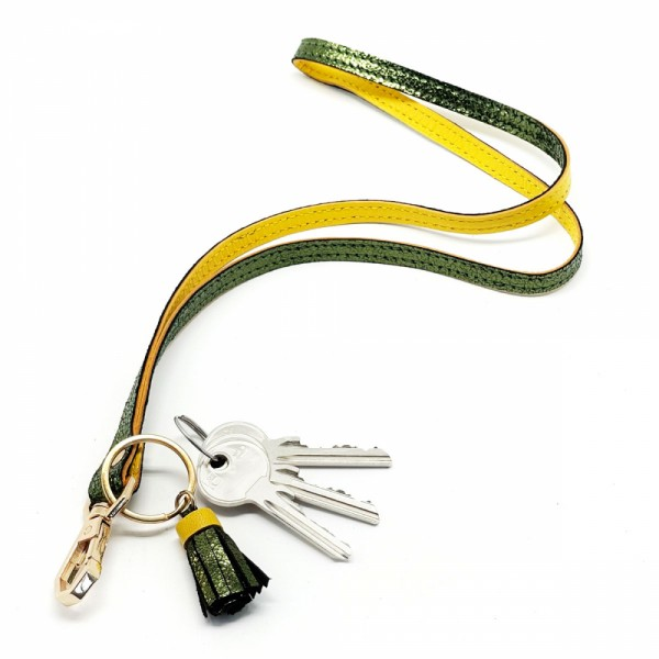 Schlüsselband BUBBLE long Kiwi