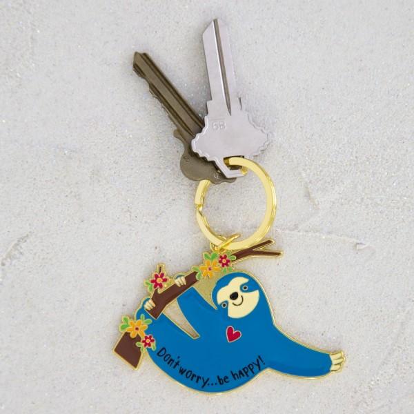 Schlüsselanhänger Enamel Sloth