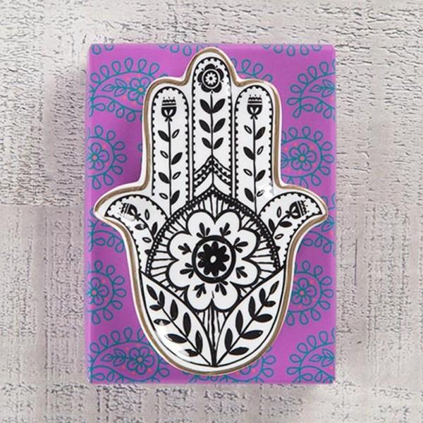 Keramikschale Calypso Hamsa Hand