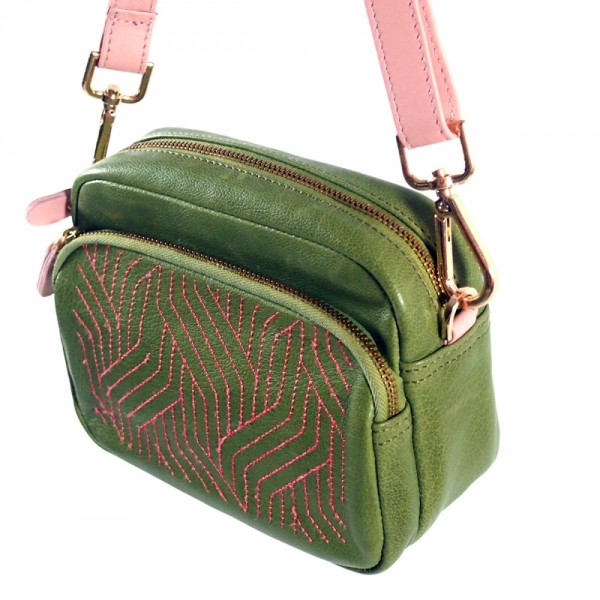 Tasche LET IT GO kiwi