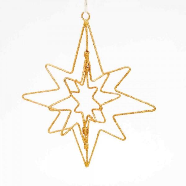 Dekoration Glitter triplestar
