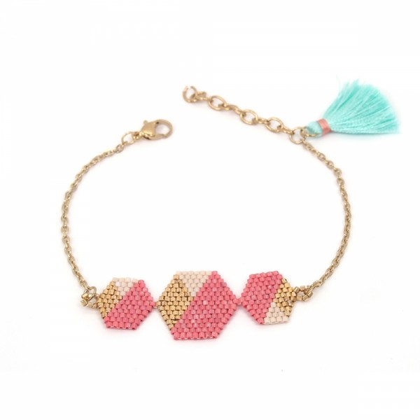 Armband PEARL geometric