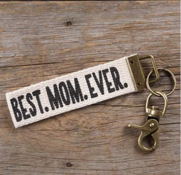 Schlüsselband Canvas Mom