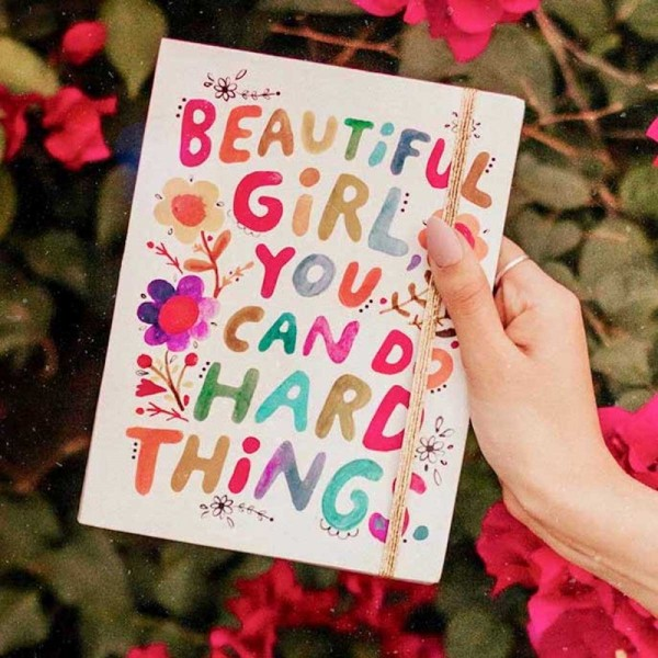 Journal Beautiful Girl