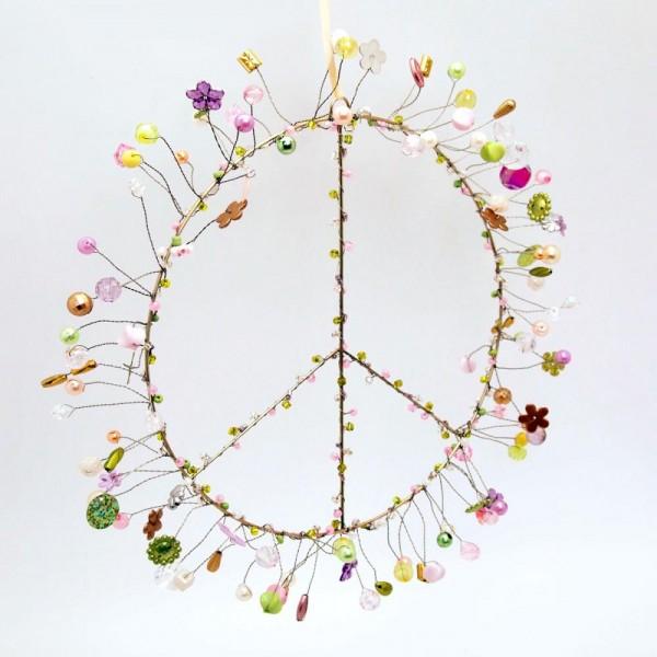 Dekoration Funkel Peace L romance