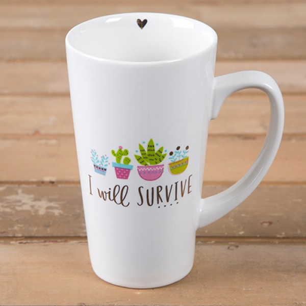 Tasse Latte Survive
