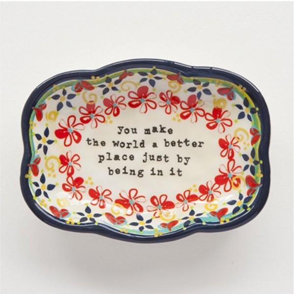 Keramikschale Artisan Trinket Dish MOON