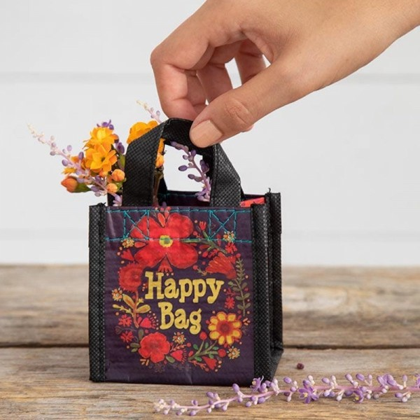 Recycle Tasche Mini Happy Bag Floral