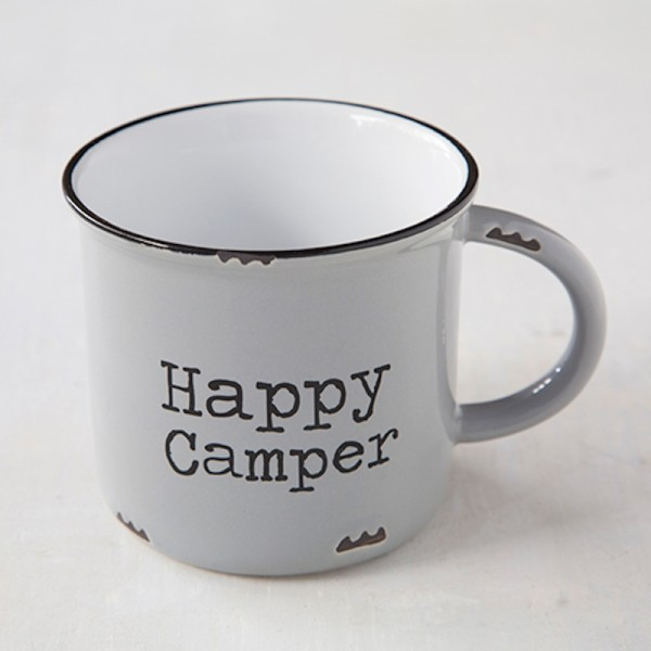 Tasse Happy Camper Grey