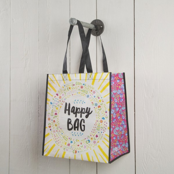 Recycled Tasche - Happy