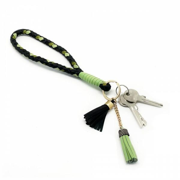 Schlüsselband Woven Rope mintgrün