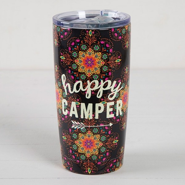 Warmhaltebecher Tumbler Happy Camper