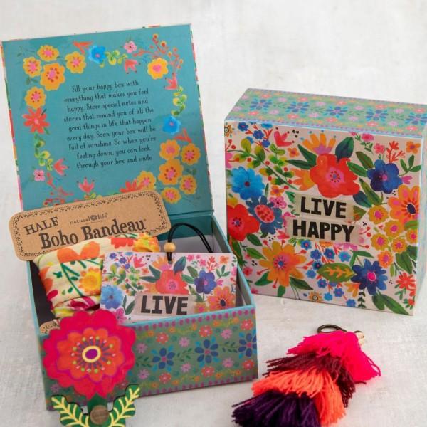 Geschenkbox Bright Floral
