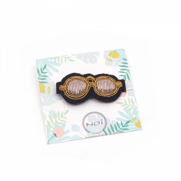 Brosche/Pin Bead Sunglasses