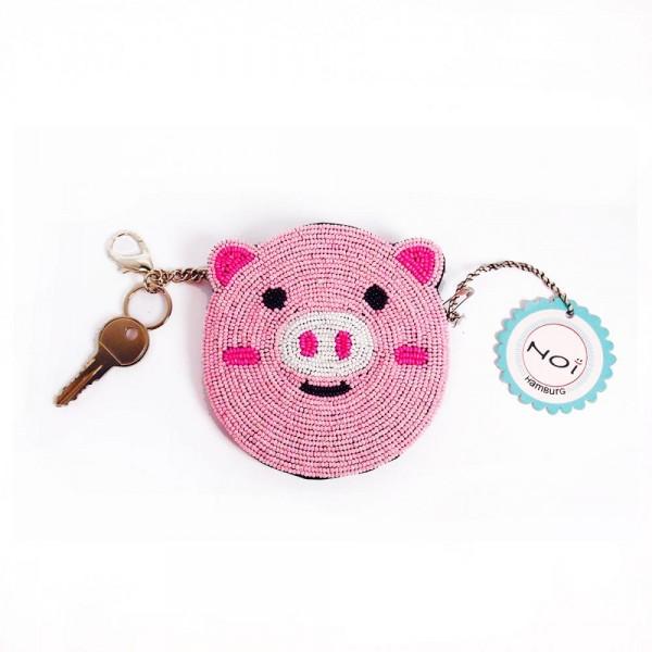 Täschchen Animalbead pig