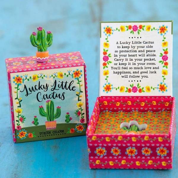 Glücksbringer in a Box Kaktus