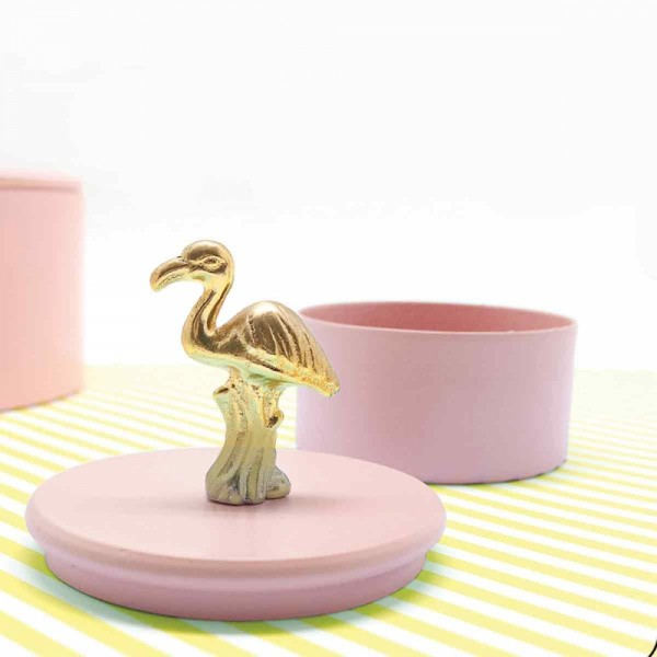 Metallcontainer Top Flamingo