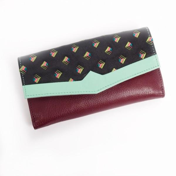 Portemonnaie FUJI V-neck black