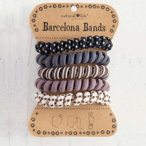 Haarband Set Barcelona Bands Grey