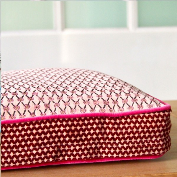 Kissenhülle Box Superhappy pink 40405