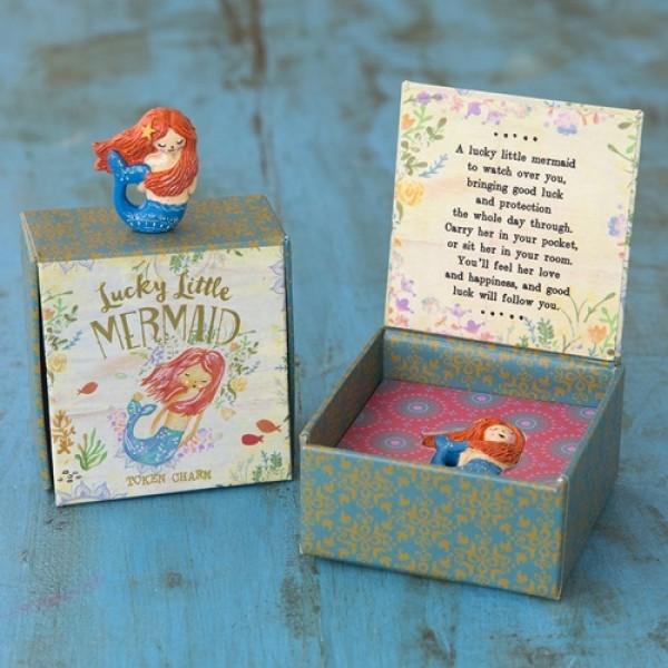 Glücksbringer in a Box Meerjungfrau