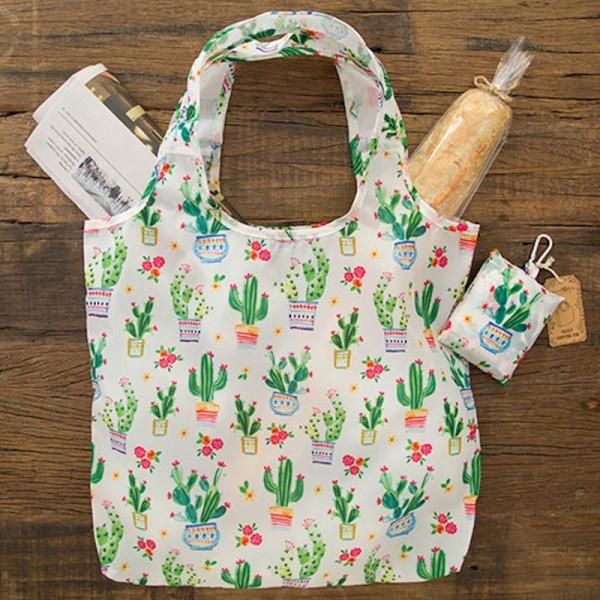 Einkaufstasche Faltbar Kaktus