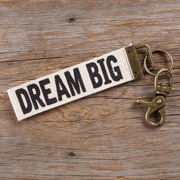 Schlüsselband Canvas Dream Big