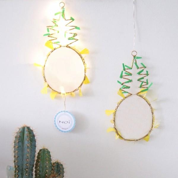 Funkel Dekoration Pineapple LED