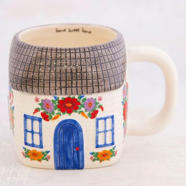 Tasse Folk Art Cottage