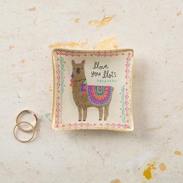 Glasschale Mini Llama