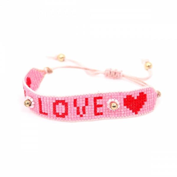 Armband PEARL Loveheart
