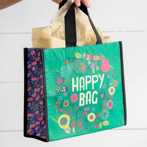 Recycle Tasche M Happy Bag Green