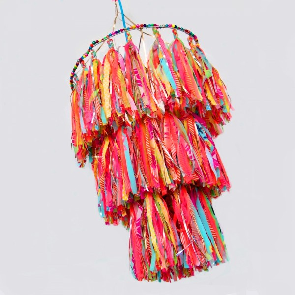 Lampenschirm Crown Tassels