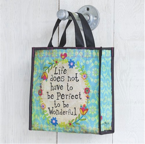 Recycled Bag Wonderful Life