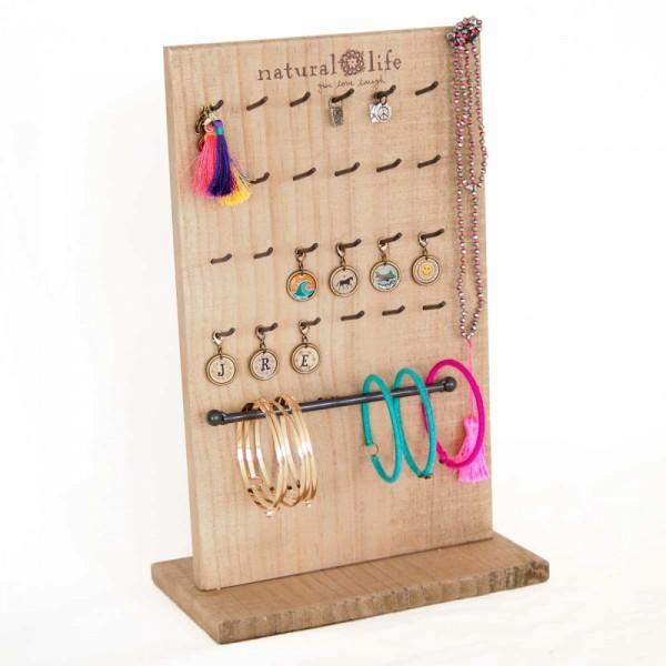 Display Jewelry- Scmuckständer Holz