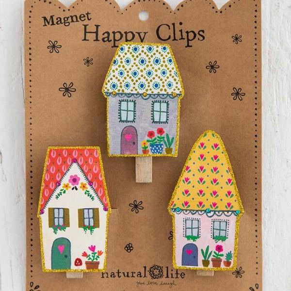 Magnetclips S/3 Cottage