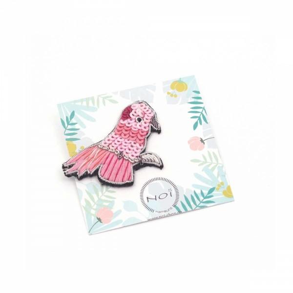 Brosche/Pin Bead Birdy