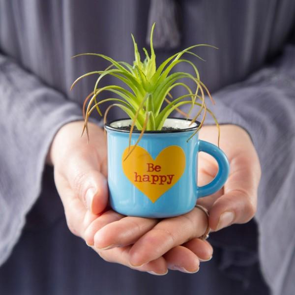 Tasse Kaktus 2in1 Mini Set Be Happy
