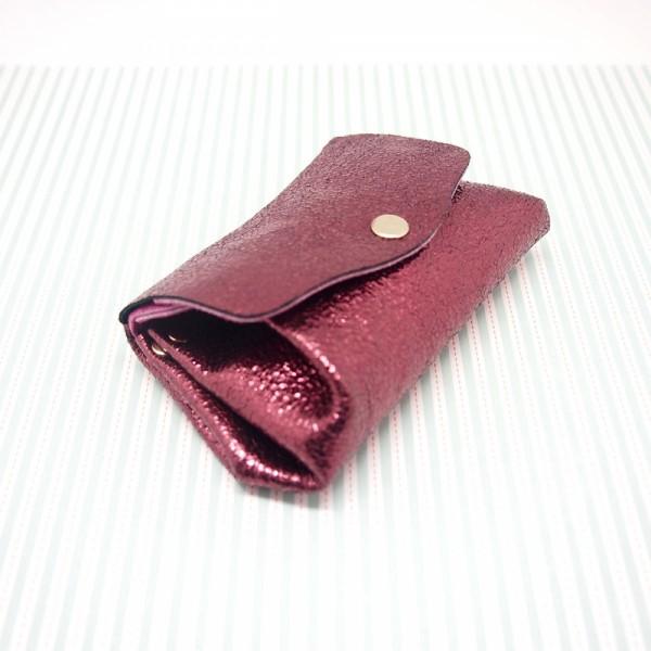 Portemonnaie Bubble metallic 2flap mini