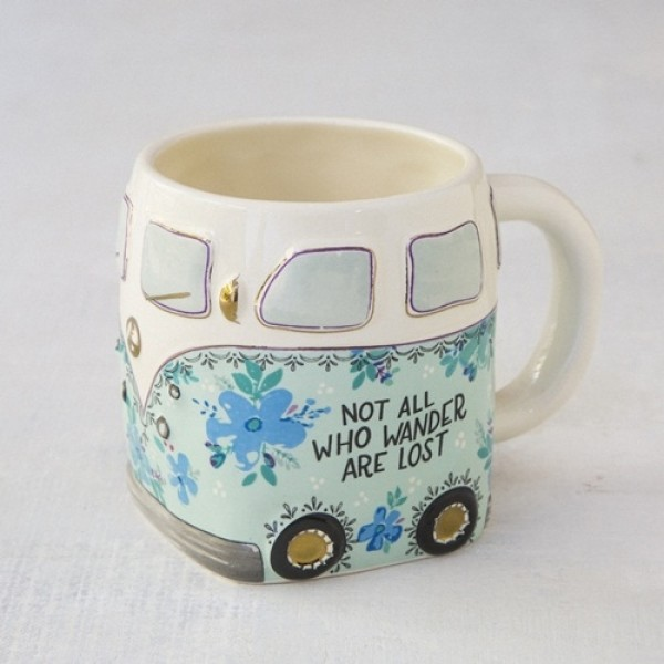 Tasse Folk Van Not all Wander
