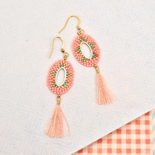 Ohrringe Kassandra Pinkstyle