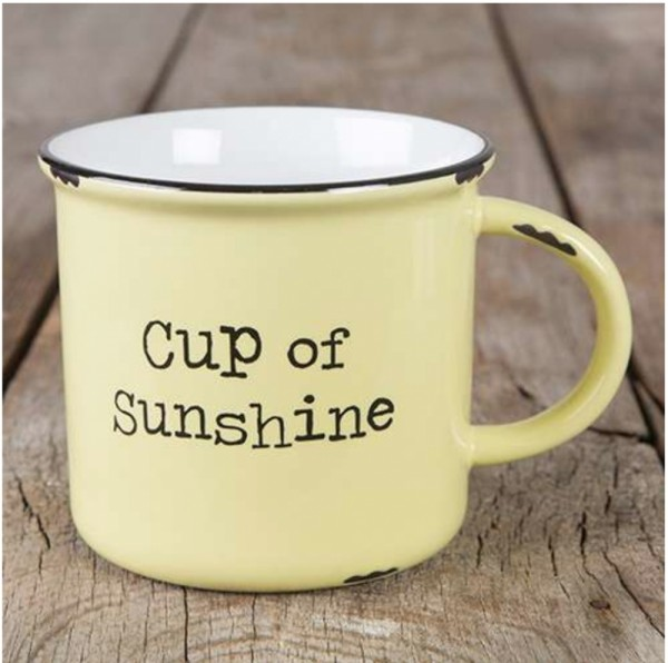 Tasse Camp Cup of Sunshine