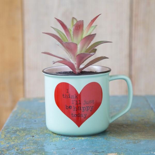 Tasse Kaktus 2in1 Set Just Be Happy