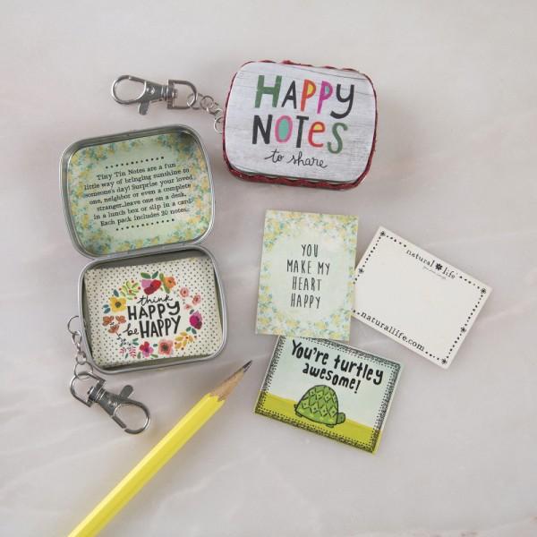 Tiny Tin Happy Notes