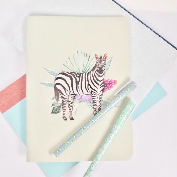Notizbuch Zebra A5
